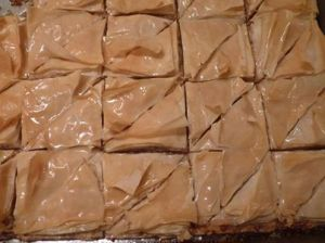 Almond and Cinnamon Baklava