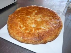 Burek - choice of cheese / spinach and feta or beef filling A traditional serbian dish with origins in Turkish cuisine. It is very popular in many countries in the Balkan region (especially Serbia, Montenegro, Macedonia, Croatia and Bosnia). In Israel this food is also fairly popular under the name