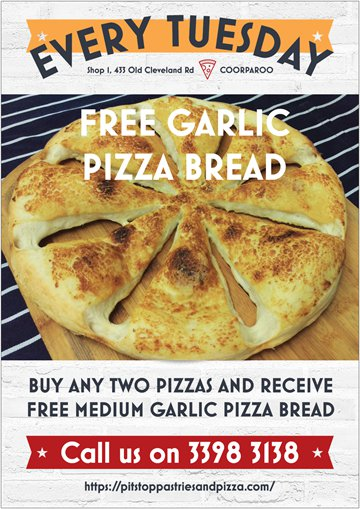 Free Garlic Bread Poster